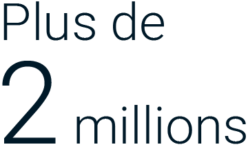 Plus de 2 millions