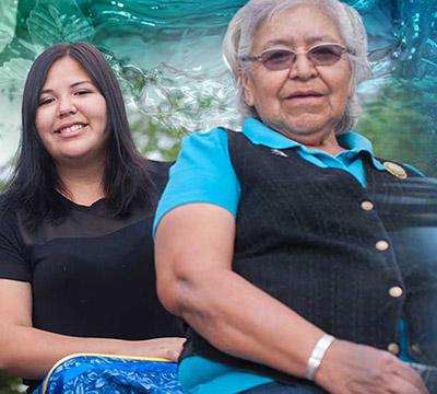 Two Indigenous women