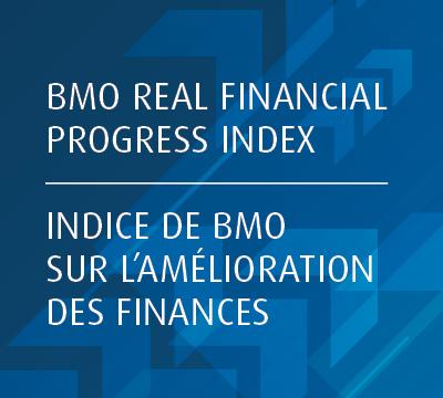 BMO Real Financial Progress Index/Incde de BMO sur l'amelioration des finances